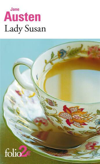 Couverture du livre « Lady Susan » de Jane Austen aux éditions Gallimard