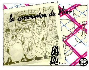 Couverture du livre « La communion du mino » de Baru aux éditions Futuropolis