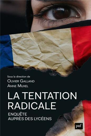 Couverture du livre « La tentation radicale » de Collectif et Olivier Galland et Anne Muxel aux éditions Puf