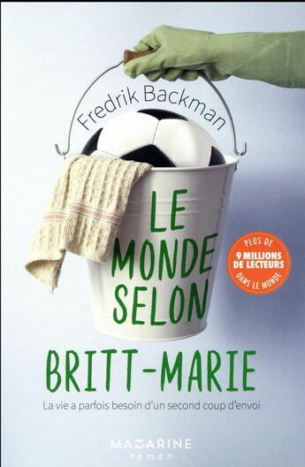 Couverture du livre « Le monde selon Britt-Marie » de Fredrik Backman aux éditions Mazarine