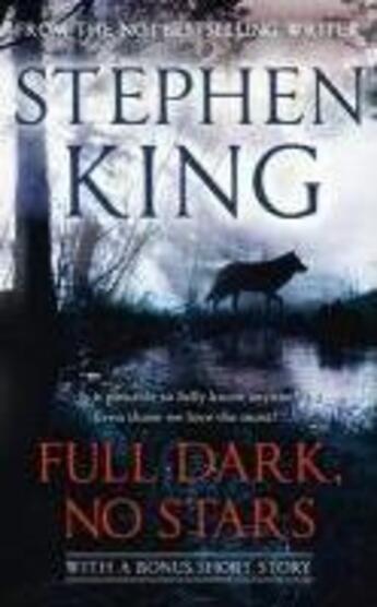 Couverture du livre « Full dark, no stars » de Stephen King aux éditions Hodder And Stoughton Ltd