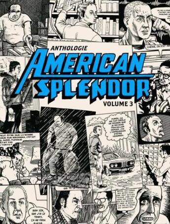 Couverture du livre « Anthologie american splendor t.3 » de Harvey Pekar aux éditions Ca Et La