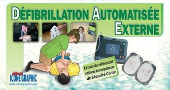 Couverture du livre « Memento participant ; défibrillation automatisée externe ; D.A.E. » de Collectif aux éditions Icone Graphic