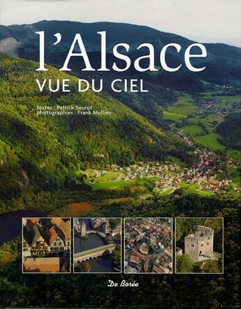 Couverture du livre « Alsace Vue Du Ciel (L') » de Frank Mulliez aux éditions De Boree
