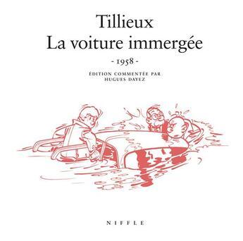 Couverture du livre « Gil Jourdan t.1 ; la voiture immergée » de Maurice Tillieux aux éditions Niffle