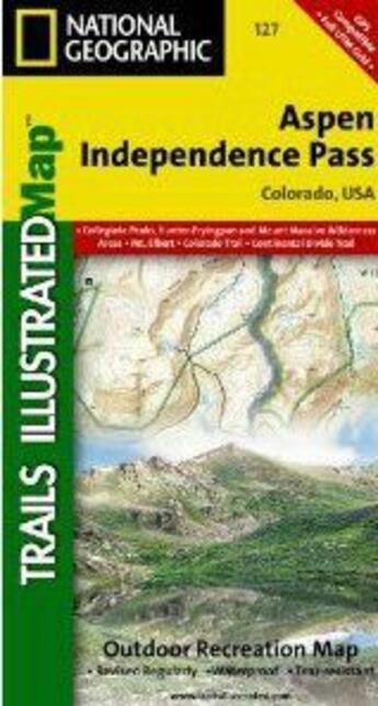 Couverture du livre « **Aspen - Independence Pass » de Collectif aux éditions National Geographic