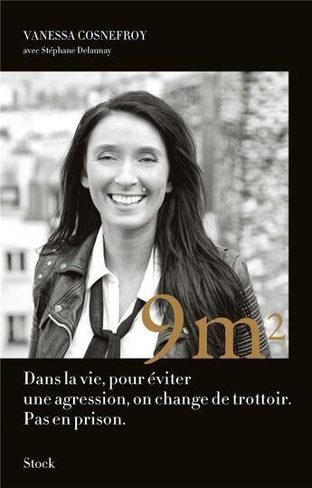 Couverture du livre « 9m2 » de Stephane Delaunay et Vanessa Cosnefroy aux éditions Stock