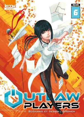 Couverture du livre « Outlaw players T.6 » de Shonen aux éditions Ki-oon