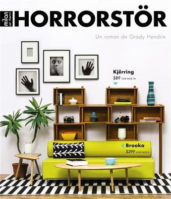 Couverture du livre « Horrorstör » de Grady Hendrix aux éditions Milan