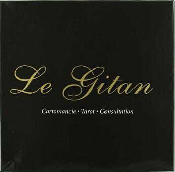 Couverture du livre « Le gitan ; coffret ; catomancie, tarot, consultation » de Andree Tessier aux éditions De Mortagne
