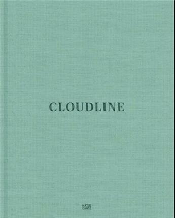 Couverture du livre « Cloudline » de Lepik aux éditions Hatje Cantz
