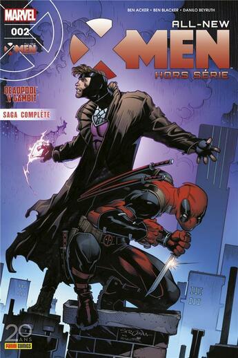 Couverture du livre « All-new X-Men HORS-SERIE N.2 » de All-New X-Men aux éditions Panini Comics Fascicules