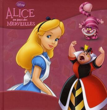 Couverture du livre « Alice au pays des merveilles » de Collectif aux éditions Disney Hachette