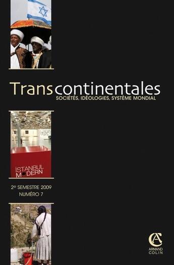 Couverture du livre « Transcontinentales T.7 ; 2/2008 » de Collectif aux éditions Armand Colin