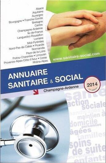 Couverture du livre « Ass Champagne Ardenne 2014 » de Collectif aux éditions Onpc
