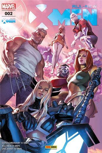 Couverture du livre « All-New X-Men T.2 » de Collectif aux éditions Panini