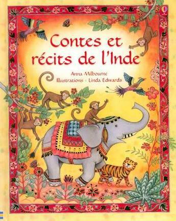 Couverture du livre « Contes Et Recits De L'Inde » de Milbourne Anna aux éditions Usborne