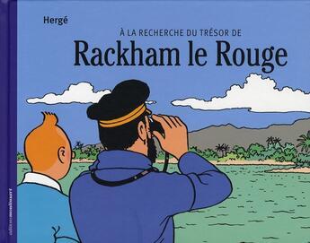Couverture du livre « à la recherche du trésor de Rackham le rouge » de Daniel Couvreur et Frederic Soumois aux éditions Moulinsart