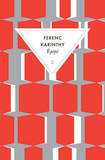Couverture du livre « Épépé » de Ferenc Karinthy aux éditions Zulma