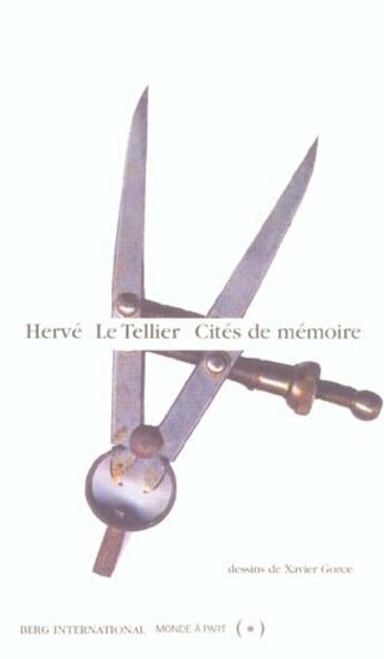 Couverture du livre « Cites De Memoire » de Herve Le Tellier aux éditions Berg International
