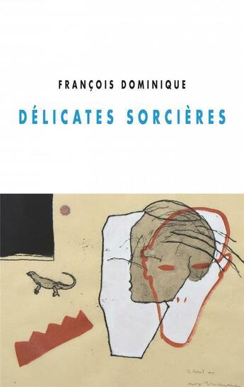 Couverture du livre « Délicates sorcières » de Dominique Francois aux éditions Champ Vallon
