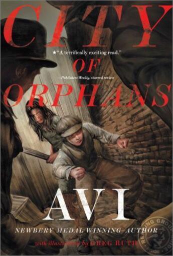 Couverture du livre « City of Orphans » de Avi Cameron aux éditions Atheneum Books For Young Readers