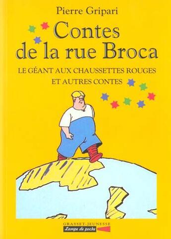 Couverture du livre « Le geant aux chaussettes rouges et autres contes - n 2 » de Pierre Gripari aux éditions Grasset Jeunesse