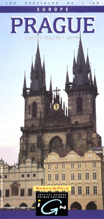 Couverture du livre « Aed Prague 1/20.000 » de Collectif Ign aux éditions Ign