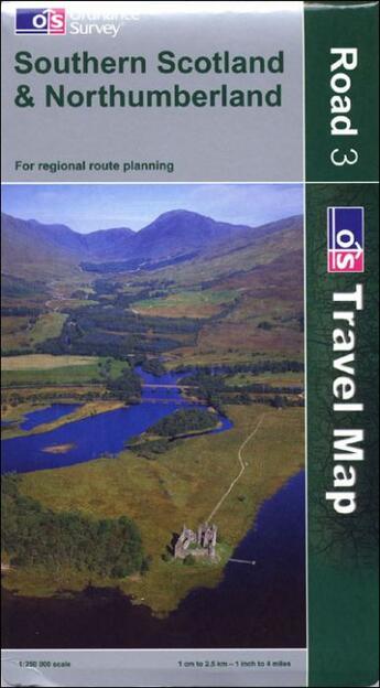 Couverture du livre « **Southern Scotland & Northumb. » de Collectif aux éditions Ordnance Survey