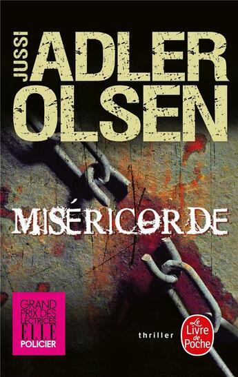 Couverture du livre « Miséricorde » de Jussi Adler-Olsen aux éditions Lgf