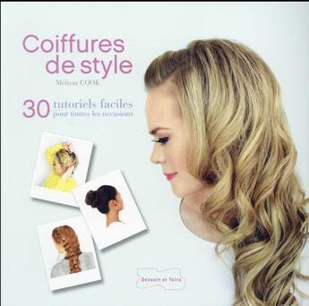 Couverture du livre « Coiffures de style » de Lorna Knight aux éditions Dessain Et Tolra
