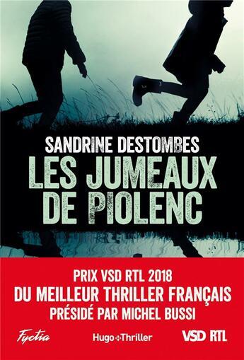 Couverture du livre « Les jumeaux de Piolenc » de Sandrine Destombes aux éditions Hugo Roman