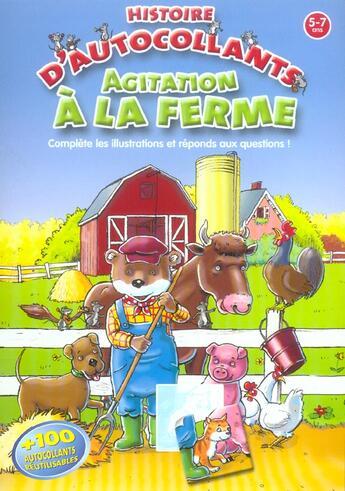 Couverture du livre « Agitation A La Ferme » de  aux éditions Yoyo Books