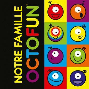 Couverture du livre « Carnet notre famille octofun » de Francoise Roemers-Poemay aux éditions Sedrap