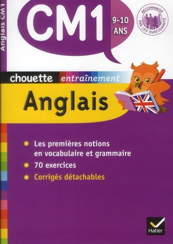 Couverture du livre « Chouette ; Anglais ; Cm1 » de Corinne Touati aux éditions Hatier