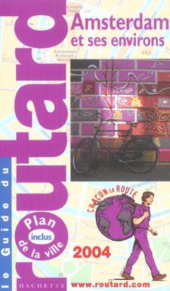 Couverture du livre « Amsterdam » de Philippe Gloaguen aux éditions Hachette Tourisme