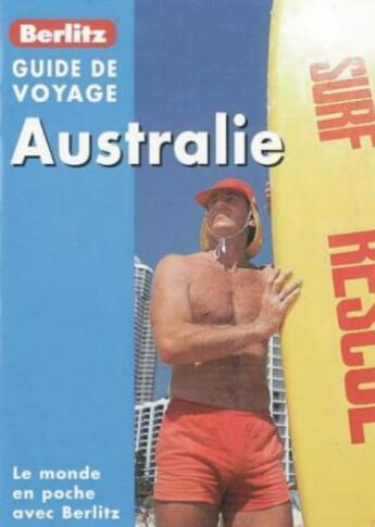 Couverture du livre « Australie » de Collectif aux éditions Berlitz