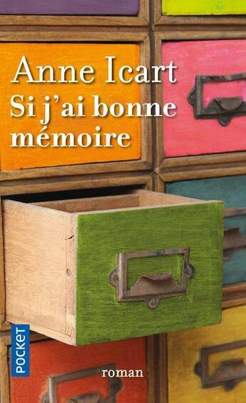 Couverture du livre « Si j'ai bonne mémoire » de Anne Icart aux éditions Pocket