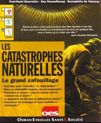Couverture du livre « Les Catastrophes Naturelles » de Paul-Henri Bourrelier aux éditions Osman Eyrolles Multimedia