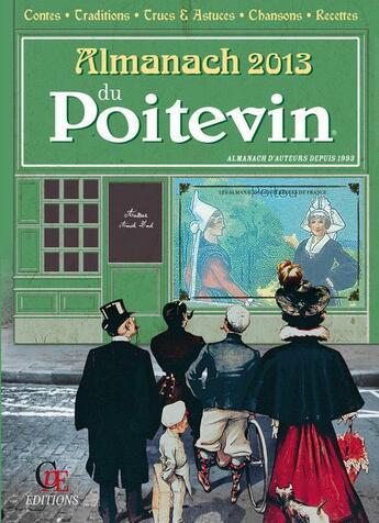 Couverture du livre « Almanach Du Poitevin 2013 » de Collectif aux éditions Communication Presse Edition