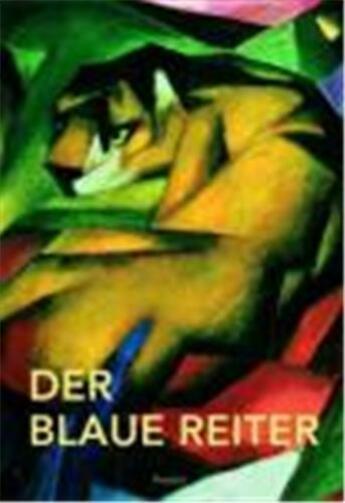 Couverture du livre « Der Blaue Reiter (Mini) /Allemand » de  aux éditions Prestel