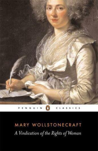 Couverture du livre « A Vindication of the Rights of Woman » de Wollstonecraft Mary aux éditions Penguin Books Ltd Digital