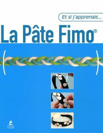 Couverture du livre « ET SI J'APPRENAIS T.22 ; la pâte Fimo » de Jordi Vigue aux éditions Place Des Victoires