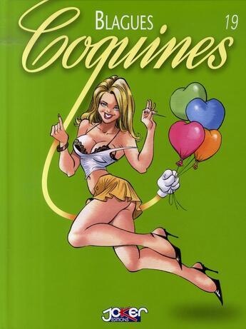 Couverture du livre « Blagues coquines t.19 » de  aux éditions P & T Production - Joker