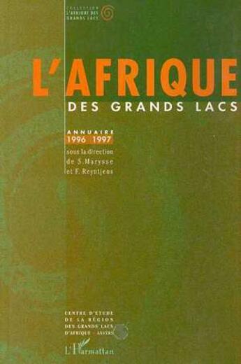 Couverture du livre « Annuaire 1996-1997 » de Collectif aux éditions L'harmattan