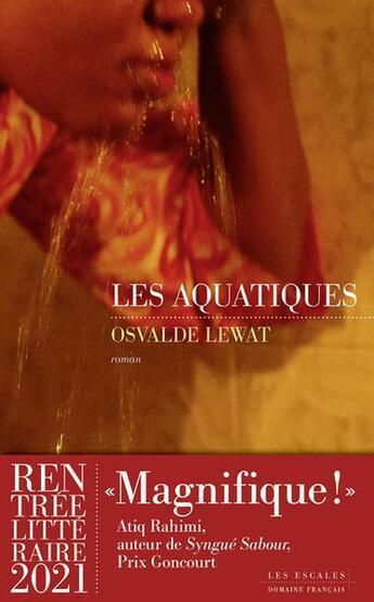 Couverture du livre « Les aquatiques » de Osvalde Lewat aux éditions Les Escales