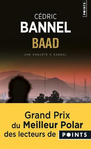 Couverture du livre « Baad » de Cedric Bannel aux éditions Points