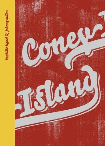 Couverture du livre « Coney island » de Lignel Baptiste / Mi aux éditions Trans Photographic Press