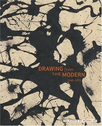 Couverture du livre « Drawing from the modern t.2 ; 1945-1975 » de Gary Garrels aux éditions Moma