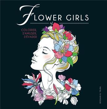 Couverture du livre « Flower girls » de Collectif aux éditions Dessain Et Tolra